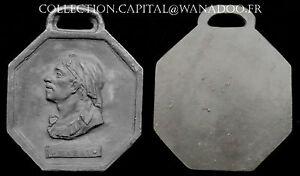 Franc Maçon XIXème Médaille Original Marat