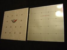 NOS 1997 CORVETTE DEALERS DELUXE SALES BROCHURE WITH ENVELOPE NEW OLD STOCK
