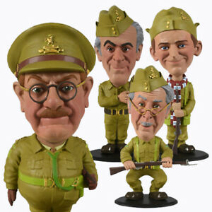 Dads Army Official Mini Bobble Buddies Figures FREE UK P&P