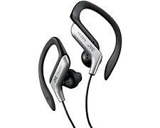 JVC HA-EB75 In-Ear Auriculares deportivos resistentes al sudor con Clip ajustable plata