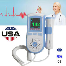 Usa Sale,3Mhz Pocket Fetal Doppler,Lcd Prenatal Heart Monitor,Baby Monitors Fda
