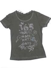 Größe 152 Mädchen-T-Shirts & -Tops mit Rundhals-Ausschnitt aus 100% Baumwolle
