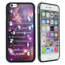 For iPhone 5 5s 5c 6 6s Plus Disney lessons learned mash up Case Phone Case
