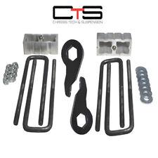 "Lift Kit Chevy Torsion Keys 3"" Forged Blocks 88-98 6 Lug 4x4 Truck SUV"