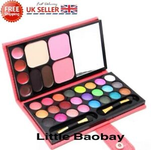 Girls Princess Pretty Makeup Set Pink Sparkling Make Up Kid Children Kit Gift UK