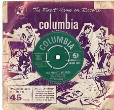 """Craig Douglas - Our Favourite Melodies 7"""" Single 1962"""