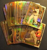 2015 Bowman Draft Chrome Refractor Prospects Rookies You Pick From List (A to Z)