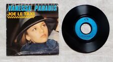 "S DISQUE VINYLE 45T SP / VANESSA PARADIS ""JOE LE TAXI"" 1987 POP ROCK"