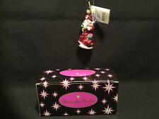Christopher Radko Christmas Ornament Little Gem Splendid Arrival