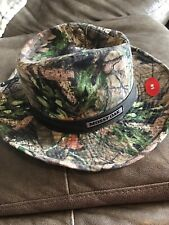Mossy Oak Hat S/M Cowboy Outdoor Camouflage Hunting Fishing Walking Real Tree