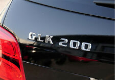 E645 GLK200 Emblem Badge auto aufkleber 3D Schriftzug Plakette car Sticker Neu