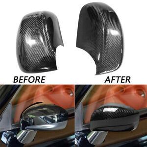 Carbon Fiber Car Side View Mirror Cover Trim Cap For Nissan GT-R R35 2008-2020