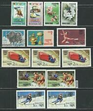 #9046 BHUTAN Clearance Lot Mostly Mint Combine Shipping