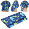 Printed Kids Baby Hair Cutting Cape Salon Hairdressing Gown Barber Cloth JUS
