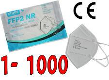 FFP2 Mund-Nasen-Schutz Maske CE zertifiziert Atemschutzmaske 1-1000