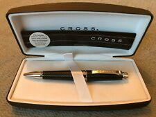 CROSS Leather Wrapped Black Ballpoint Pen