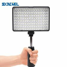 Professional TL-120 Camera Video Light Hotshoe Led Lamp with 2 Filters 3200K/550