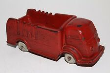 Auburn Rubber 1937 International Stake Truck, Red, Original #3
