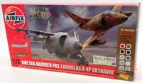 Airfix 1/72 Scale Kit A50134 - BAE Sea Harrier FRS.1 & Douglas A-4P Skyhawk
