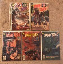 Star Trek the Original Series Whitman Comic Books #s 41, 44, 51, 52, 53