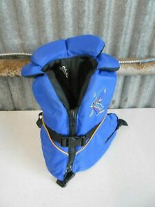 Stohlquist Life Jacket/Vest Child/Youth 30-50 lbs, Type III PFD Blue Excellent