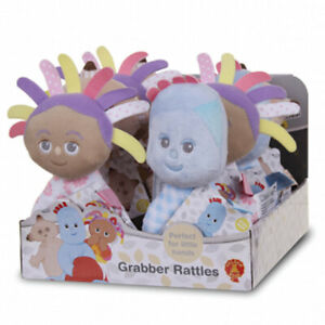 IN THE NIGHT GARDEN BABY GRABBER CUDDLY SOFT PLUSH RATTLE TOY - From Birth **NEW