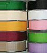 """10 yardas pastel rayas cinta raso transparente amarillo de bebé 5//8/""""W"""