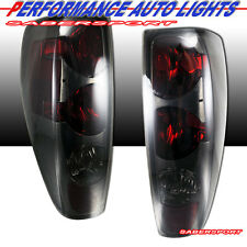 2004-2012 CHEVY COLORADO GMC CANYON ALTEZZA STYLE TAIL LIGHTS SMOKE PAIR