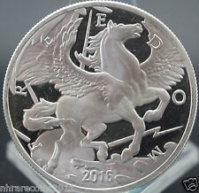 2016 MODERN ANCIENT SERIES PEGASUS 1 OZ. .999 PURE SILVER USA COIN