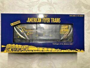 American Flyer by LTI #44087 Seaboard Coast Line Waffle Box car! L@@K!