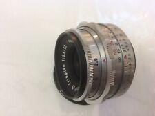 Meyer-Optik Gorlitz Trioplan F 2.9/50 50mm lens, With Screw mount Great Cond.