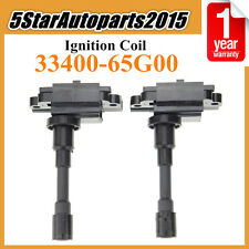 2x Ignition Coil for Suzuki Aerio Baleno Jimny Liana Swift SX4 Carry 33400-65G00