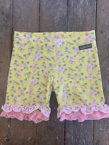 Matilda Jane Ruffle Shorts Shorties Size 8 Hello Lovely Sunny
