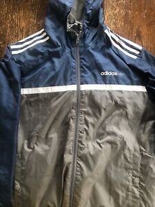 Adidas Athletic Wear Men's 4-Lot Includes Reversible Windbreaker (Nice!) Shirt