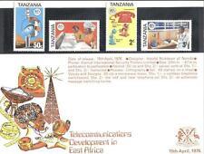 (854264) Telephone, Tanzania - special folder with mnh.set -