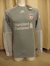 Liverpool Techfit Player Issue 10-12 Casa Portero Camisa Adidas BNWT (s)