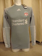 Liverpool Techfit Player Issue 10-12 Home Goalkeeper Shirt Adidas BNWT (M)