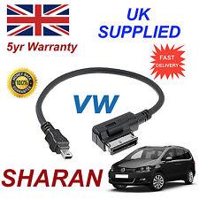 VW Sharan 000051446a mp3 MMI AMI iPod Telefono Mini Cavo USB sostituzione