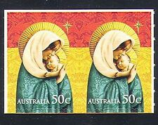 Australia 2008 Christmas/Virgin/Child/Madonna/Greetings s/a bklt pr (n33963)