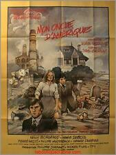 MON ONCLE D'AMERIQUE Affiche Cinéma / Movie Poster DEPARDIEU BILAL