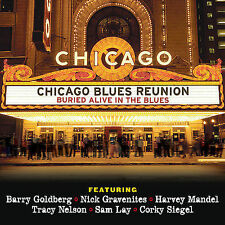 CHICAGO BLUES REUNION, Buried Alive in The Blues, CD & DVD, Harvey Mandel, NEW