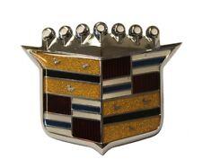 1967-1968 Cadillac Deville Calais Fleetwood Hood Crest Ornament Molding Emblem
