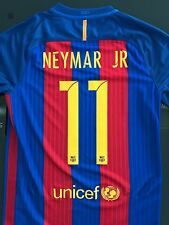 Authentic Barcelona 2016-17 Home Jersey New Long Sleeve S Neymar 11