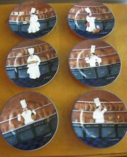 New listing Set of 6 Williams-Sonoma Guy Buffet Les Chefs Salad Plates