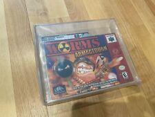 Worms: Armageddon (Nintendo 64, 2000) Graded VGA 80+