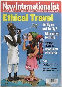 New Internationalist Ethical Travel NI 409 March 2008 (Magazine, Paperback)