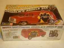 Revell un-opened snap together plastic kit of a Charlie's Angels Chevy van