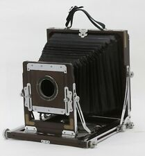 Okuhara Large Format wooden Camera From JAPAN *Excellent++* #020501