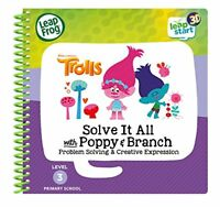 Leapstart Reception Trolls Solve It All With Poppy  Branch Activity Book 3D E