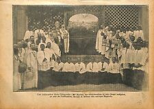 Ordination Uganda Ouganda Mgr Forbes Missionaries Missionnaire 1920 ILLUSTRATION